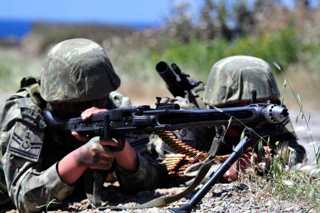 KOMŞU İLDE 12 PKK'Lİ ÖLDÜRÜLDÜ