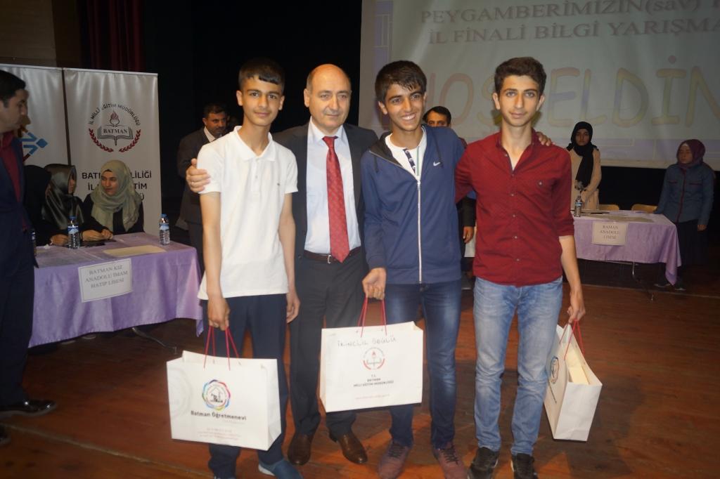 Siyer-İ Nebi Yarışmasının Birincisi Anadolu Lisesi