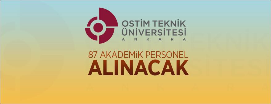 87 akademik personel alınacak