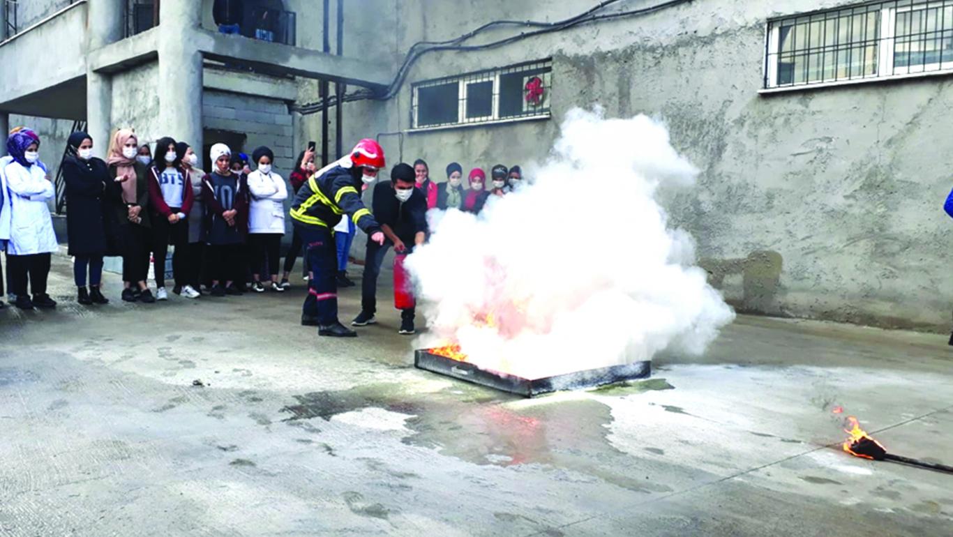 9 Ayda Bin 42 Yangına Müdahale Edildi