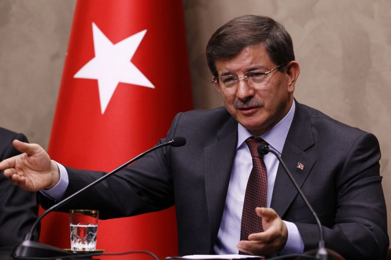 Davutoglu made explanations over bombing attack in Suruc