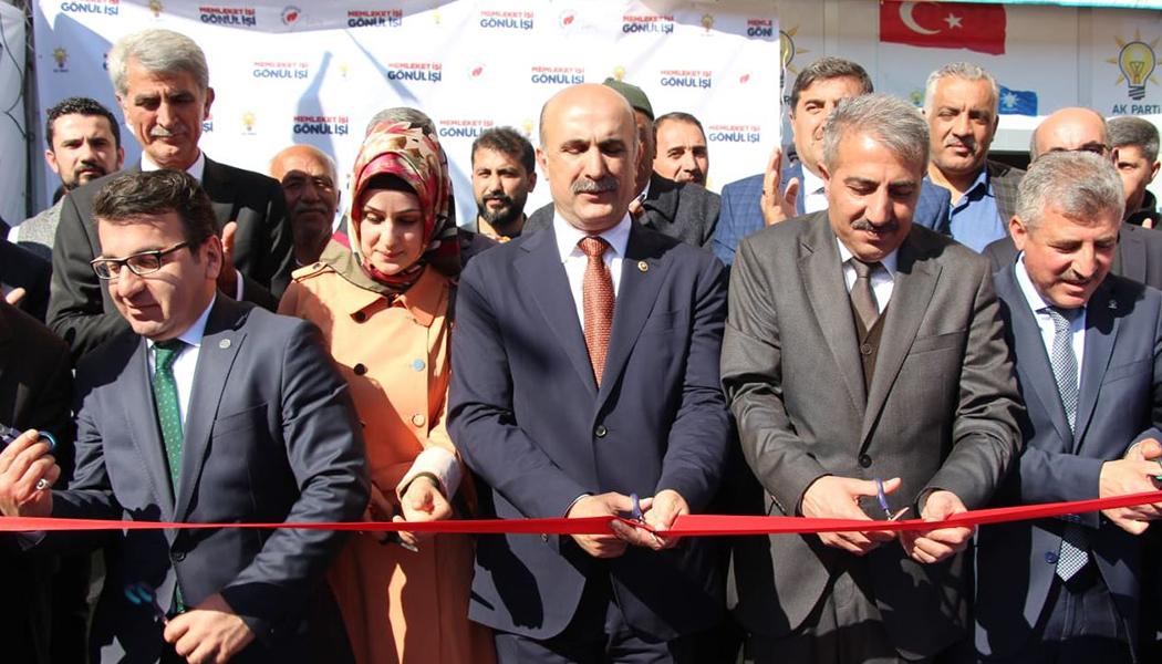 AK Parti Gerçüş Lokali Açıldı