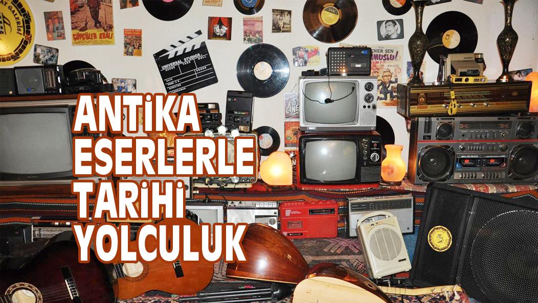 ANTiKA ESERLERLE TARiHi YOLCULUK