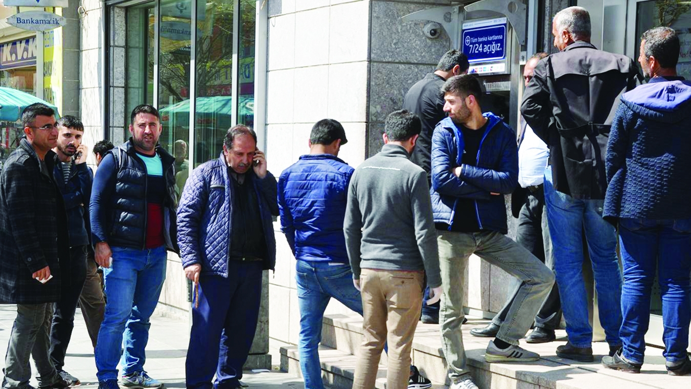 ATM'LERDE ALINAN CORONAVİRUS ÖNLEMİ YOK