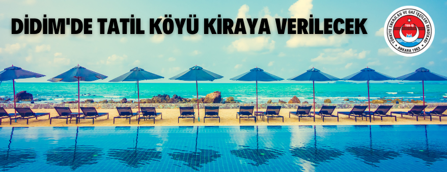 Aydın/Didim'de 5 Yıldızlı Otel (Tatil Köyü) Kiraya Verilecek