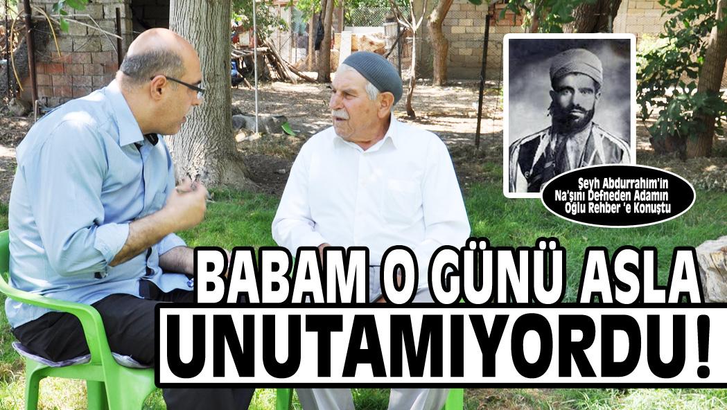 BABAM O GÜNÜ ASLA UNUTAMIYORDU!