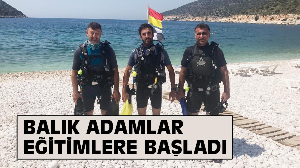 BALIK ADAMLAR EĞİTİMLERE BAŞLADI