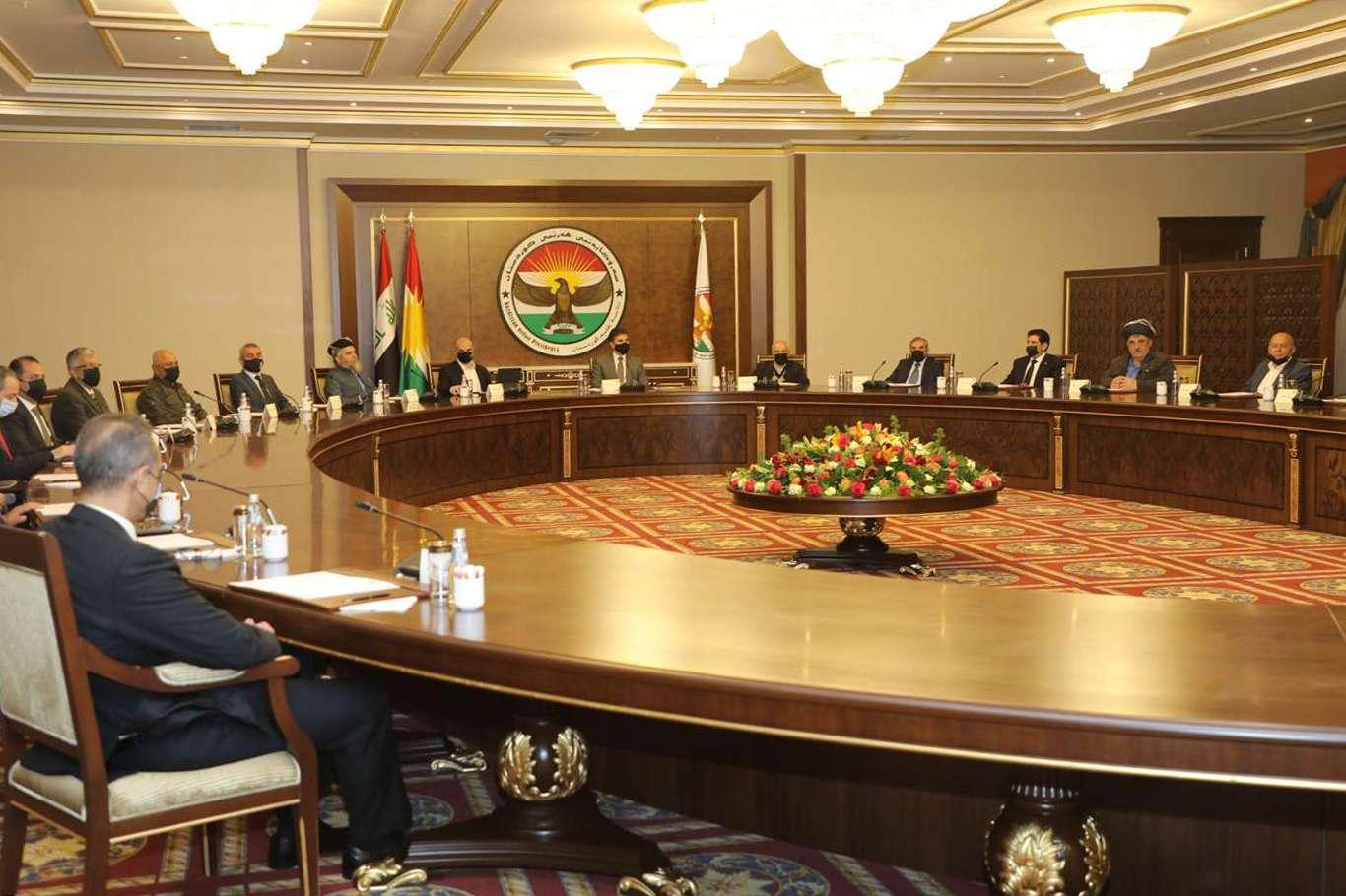 Barzani, Kürdistan Bölgesi