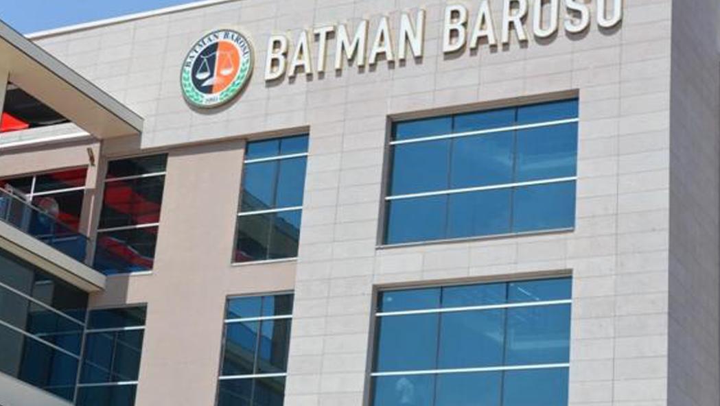 Batman Barosundan Saldırıya Uğrayan Avukatlara Destek