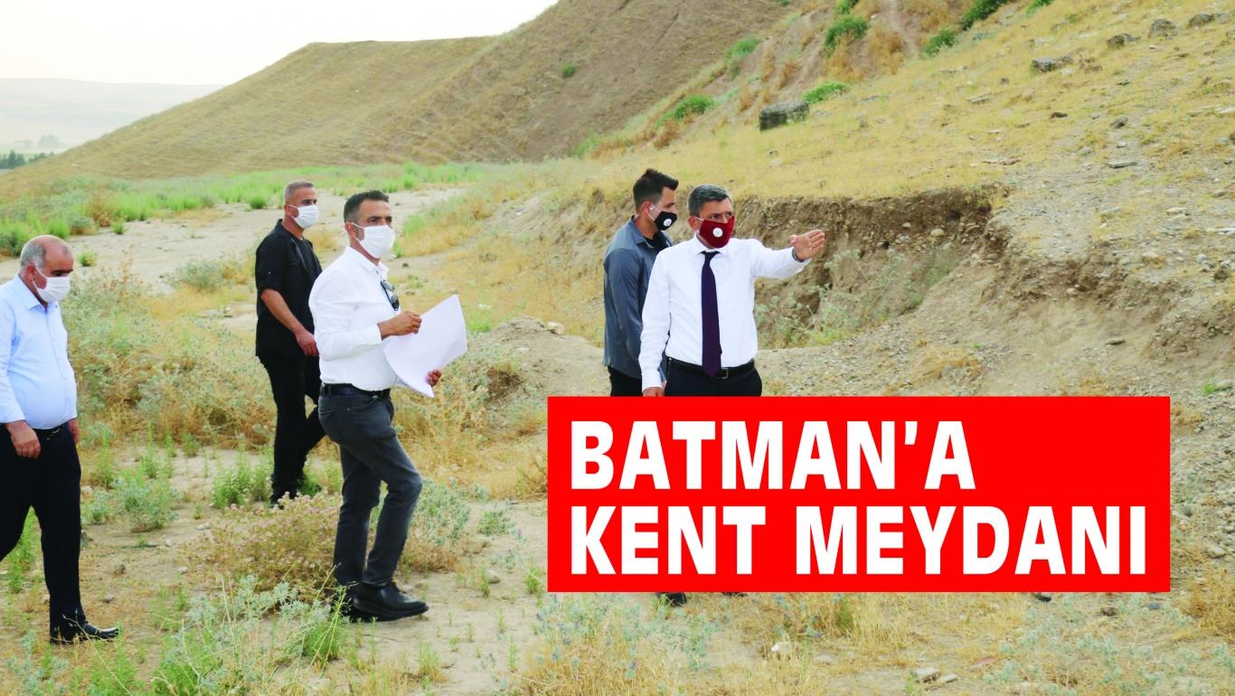 BATMAN'A KENT MEYDANI