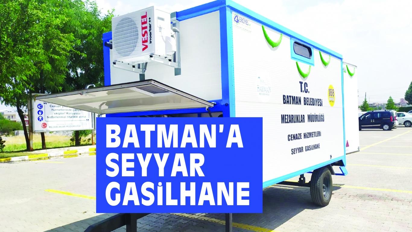 BATMAN'A  SEYYAR GASiLHANE