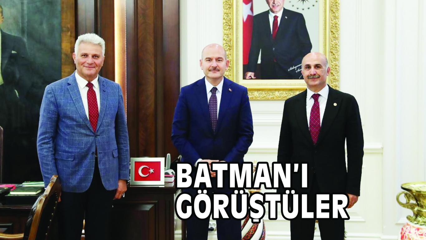 BATMAN'I GÖRÜŞTÜLER