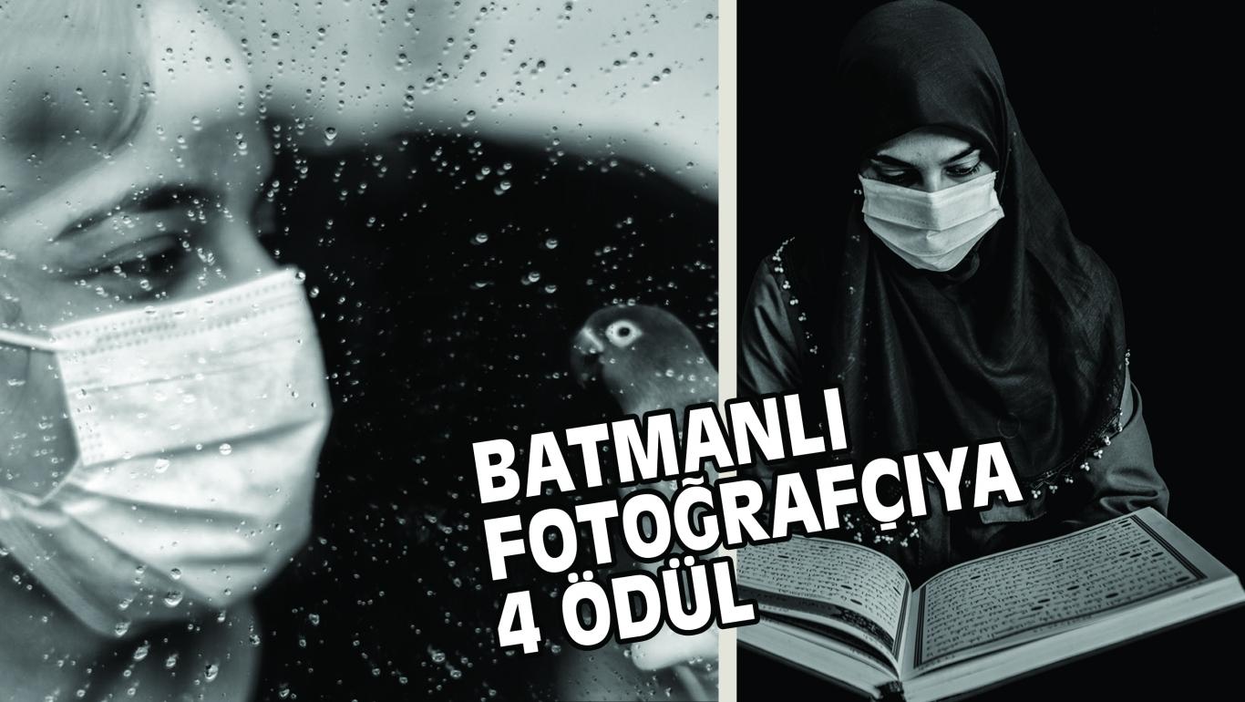 BATMANLI FOTOĞRAFÇIYA  4 ÖDÜL