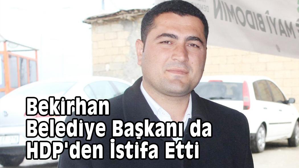 Bekirhan Belediye Başkanı da HDP