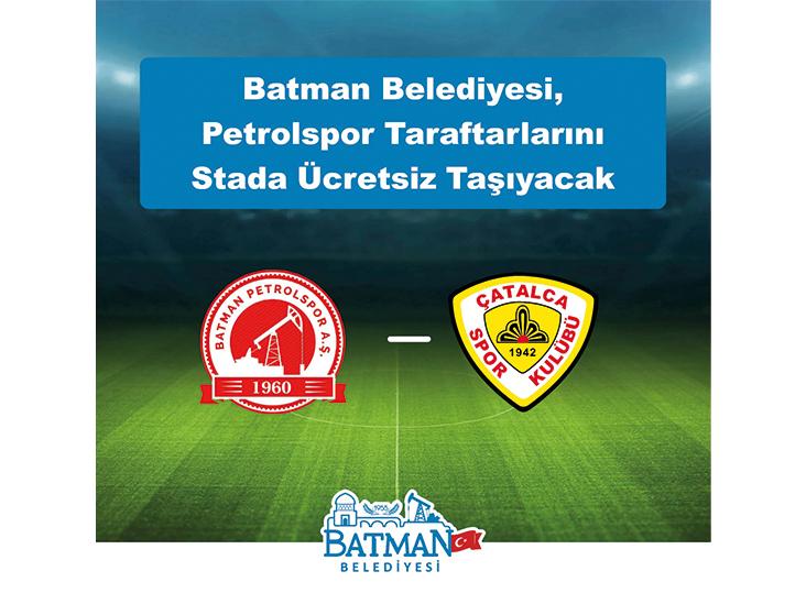 Belediyeden Petrolspor'a Destek