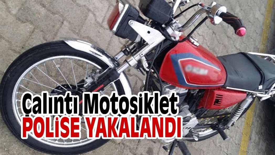 Çalıntı Motosiklet Polise Yakalandı