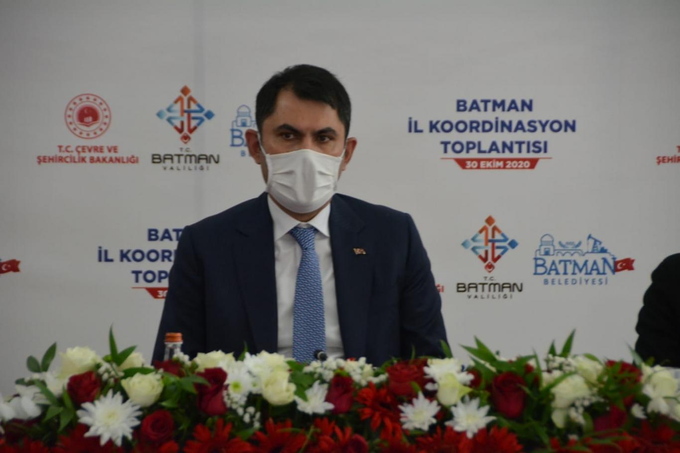 ÇEVRE BAKANI BATMAN'DAYDI