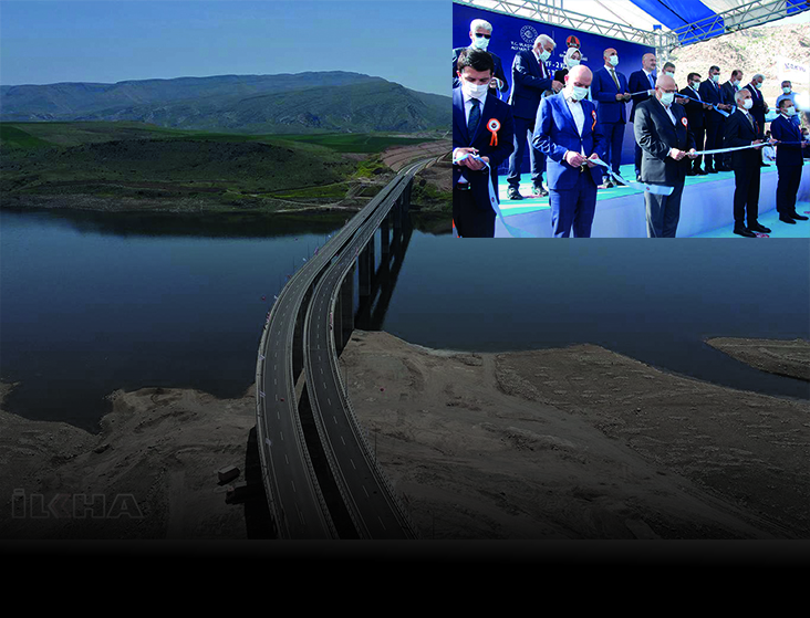 Cumhurbaşkanı Erdoğan Törene Bağlandı HASANKEYF-2 KÖPRÜSÜ HİZMETE AÇILDI