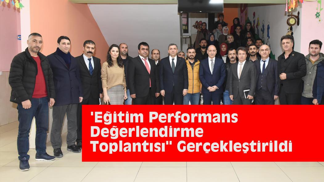'Eğitim Performans Değerlendirme Toplantısı