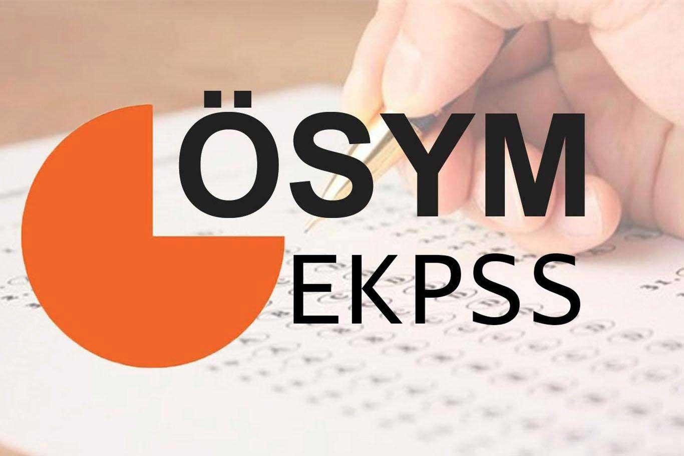 EKPSS Giriş Belgeleri Erişime Açıldı