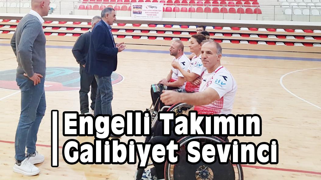 Engelli Takımın Galibiyet Sevinci