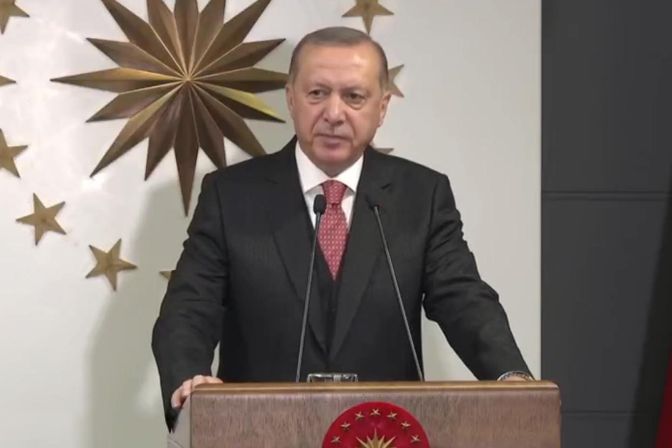 """Erdoğan: """"Milli dayanışma kampanyası başlatıyoruz"""""""