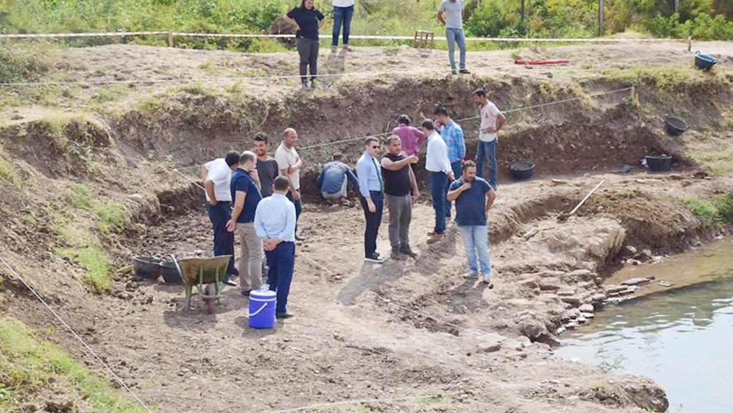 Erzen Antik Kentinde Kazı Çalışmaları