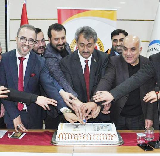 Gazeteciler günlerini kutladı
