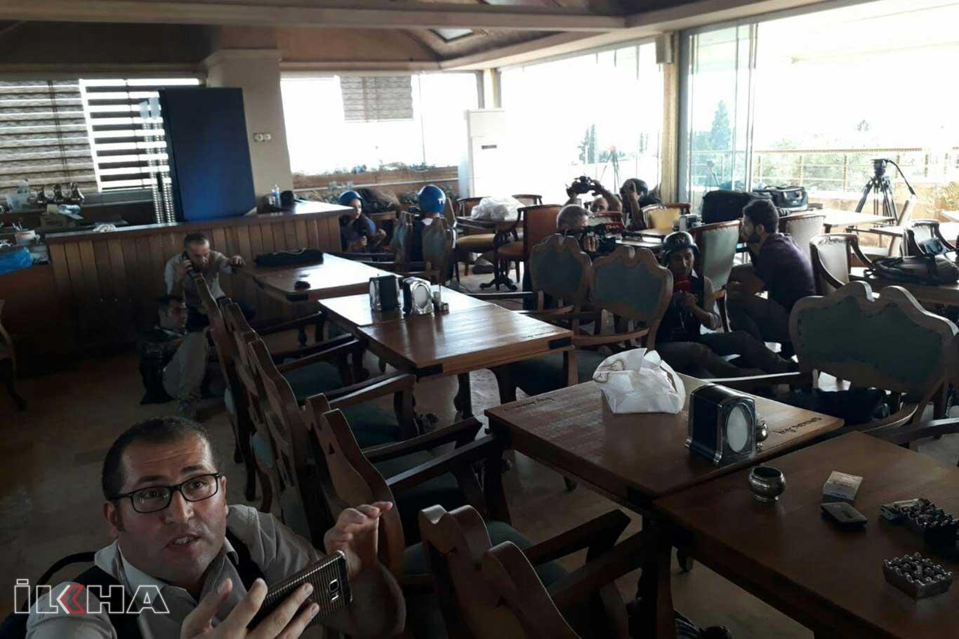 Gazeteciler PKK/YPG'nin hedefi oldu