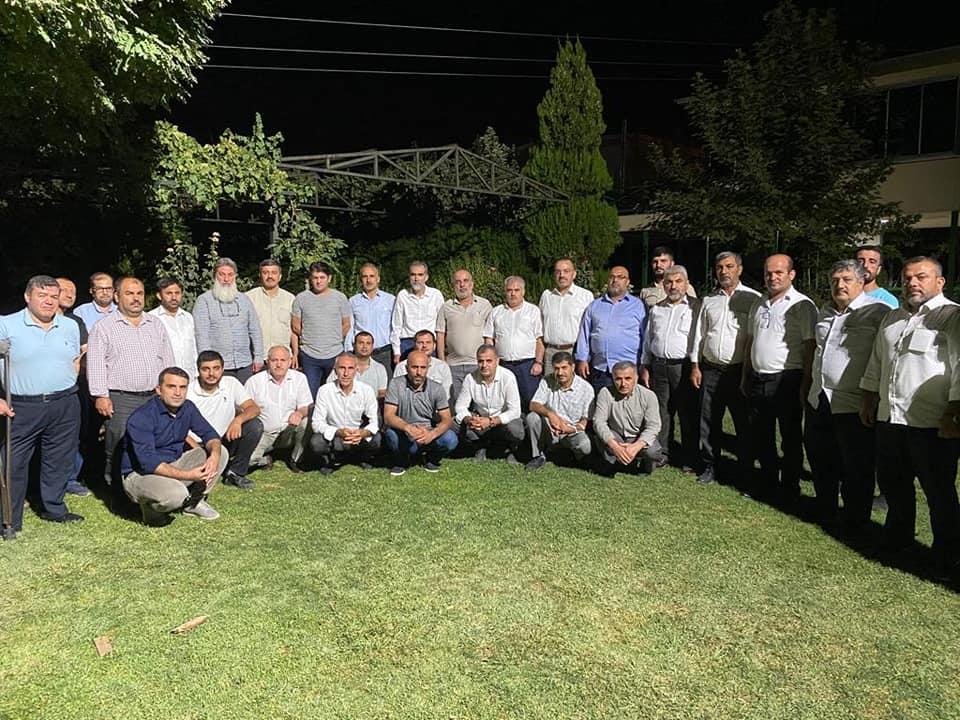 HAKSİAD Üyeleriyle Toplantı Düzenledi