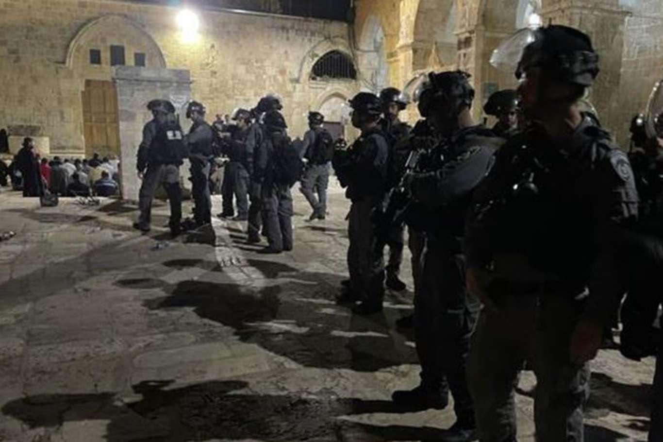 HAMAS: Mescid-i Aksa'ya yönelik saldırılar siyonistlerin vahşi zihniyetini ortaya koyuyor