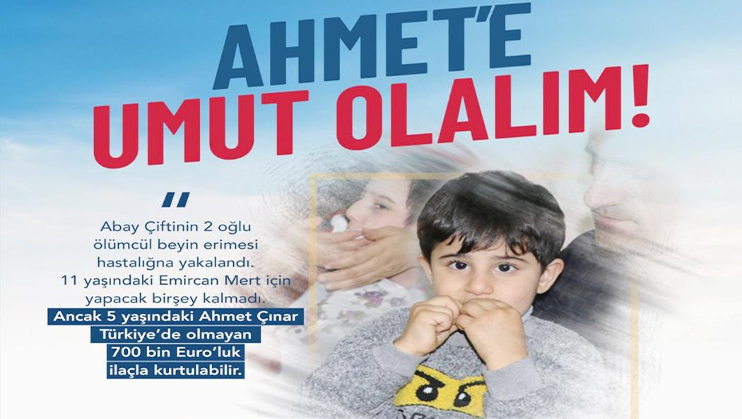 Haydi Türkiye #ahmeteumutolalım