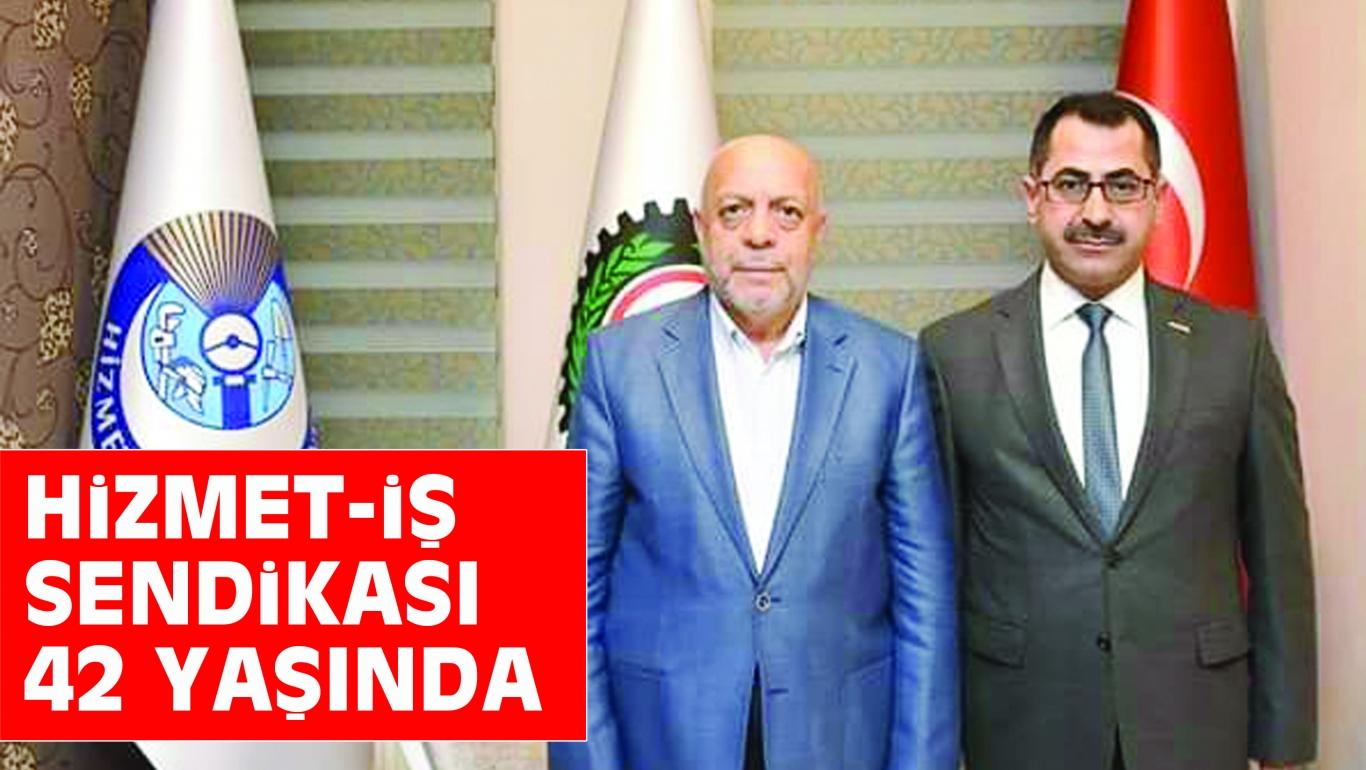 HiZMET-iŞ SENDiKASI 42 YAŞINDA