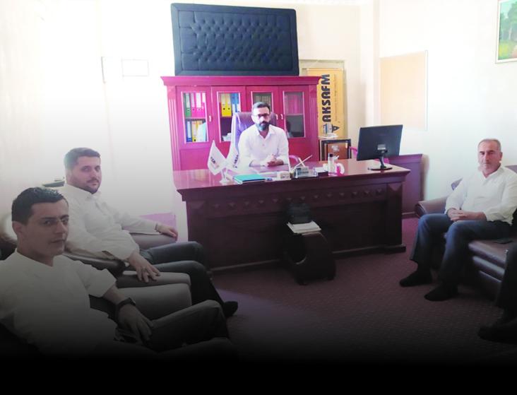 HÜDA PAR heyeti Aksa FM'i ziyaret etti