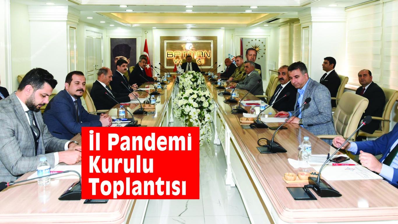 İl Pandemi Kurulu Toplantısı