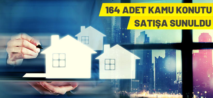 İstanbul'da 164 adet kamu konutu satılacak