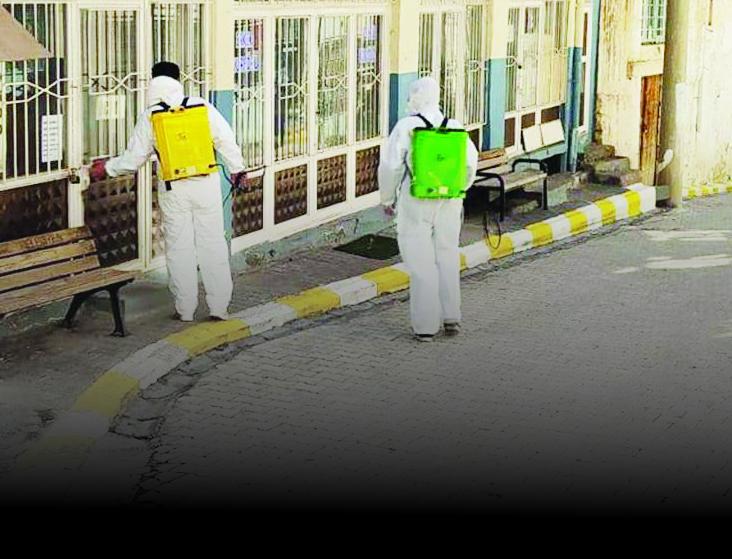 Kayapınar Belediyesi Virüse Karşı Gece Gündüz Çalışıyor