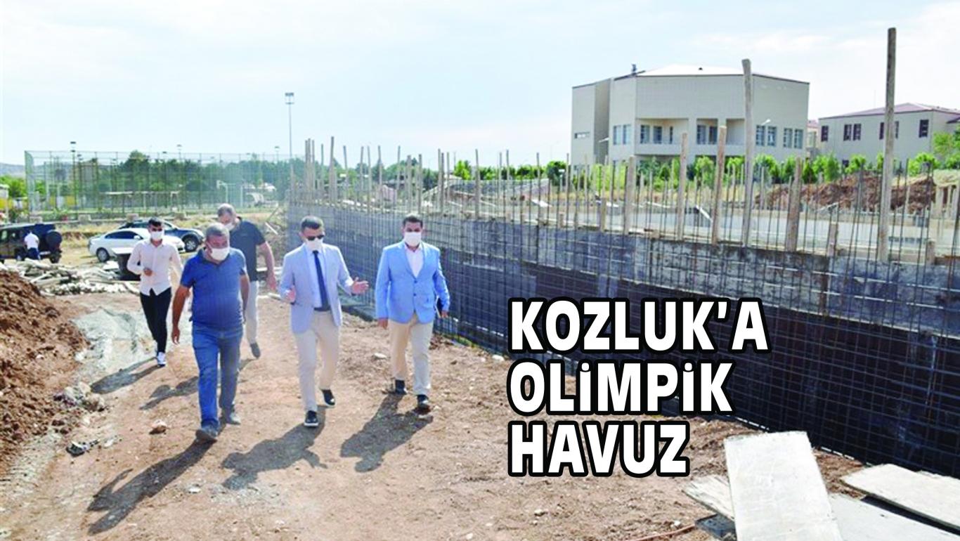 KOZLUK'A OLİMPİK HAVUZ