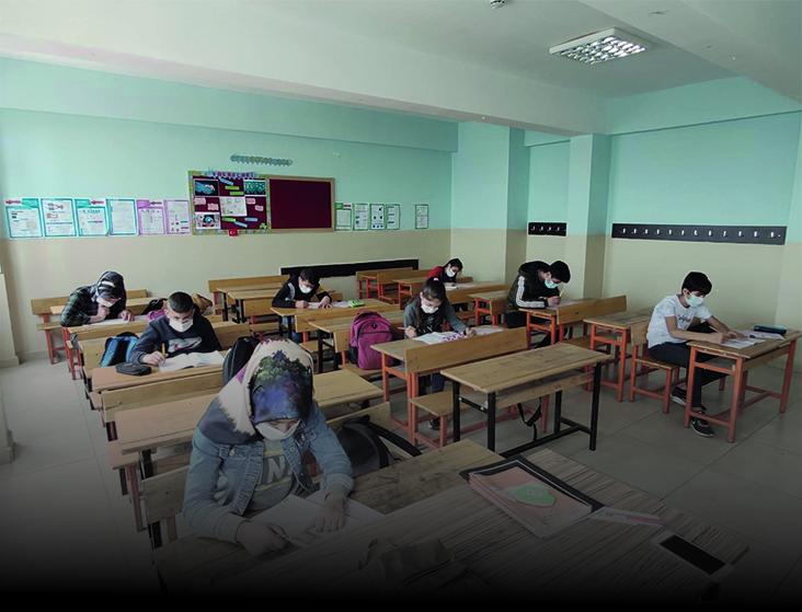 Kozluk'ta Deneme Sınavı