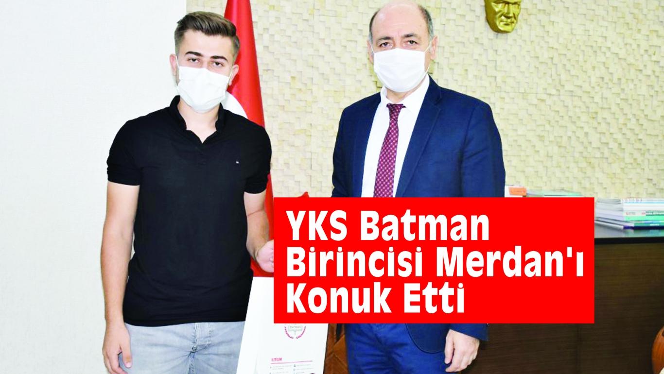 KURTARAN, YKS Batman Birincisi Merdan'ı Konuk Etti