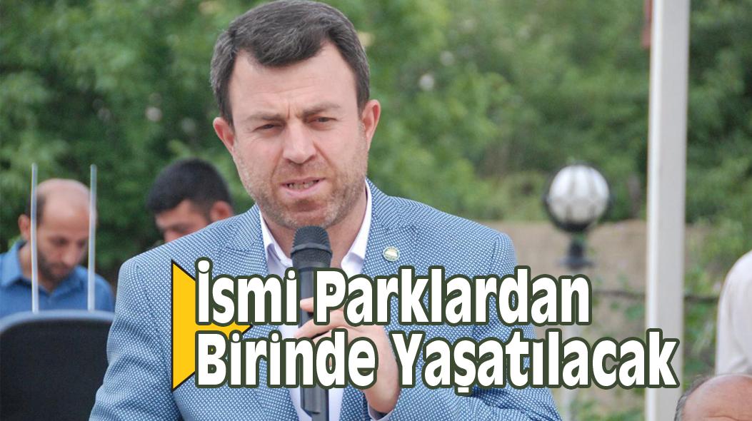 Mehmet Yavuz'un İsmi Parklardan Birinde Yaşatılacak
