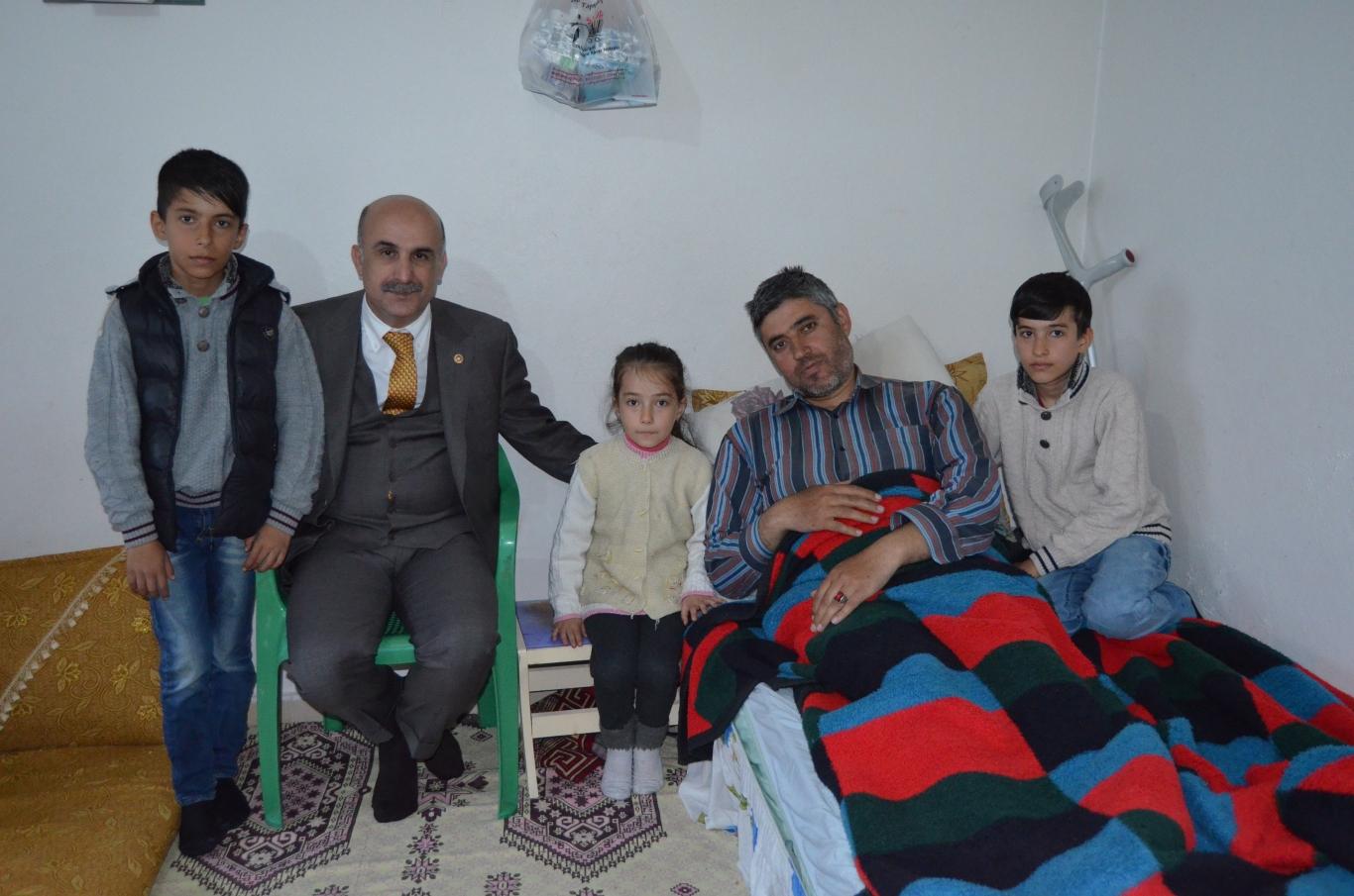 Milletvekili Özdemir'den Hasta Ziyareti