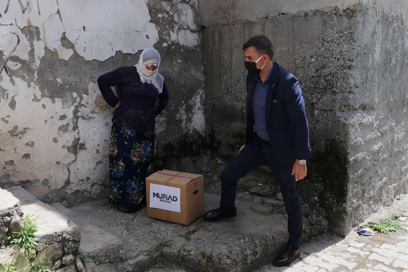 MÜSİAD Batman Şubesinden 850 muhtaç aileye Ramazan yardımı
