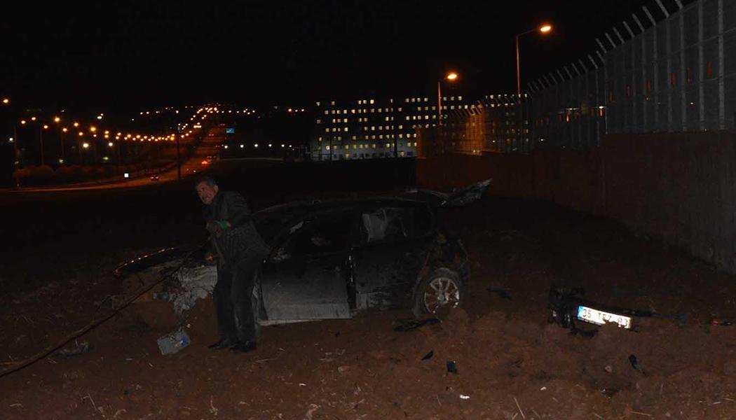 Otomobil Takla Attı 4 Yaralı