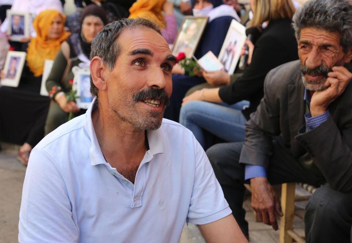 PKK'nin Kaçırdığı Oğlu İçin 5 Yıl Sonra Yine Eyleme Başladı