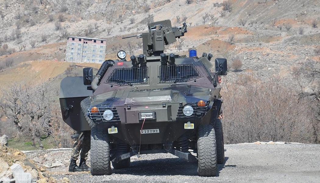 PKK'ye Ait Mühimmat Ele Geçirildi