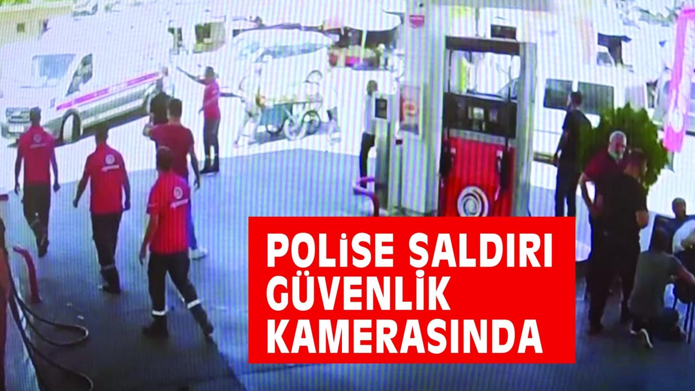 POLiSE SALDIRI GÜVENLİK KAMARASINDA