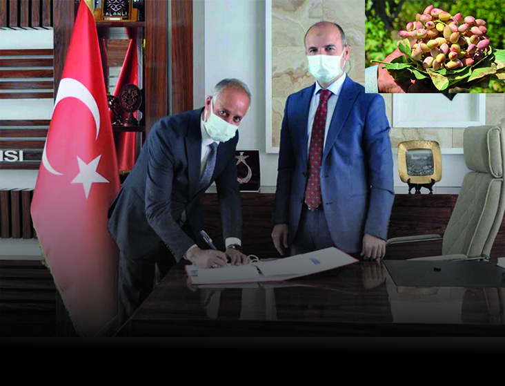 """""""PROJELERİMİZ FISTIK ÜRETİMİNİ ARTIRACAK"""""""