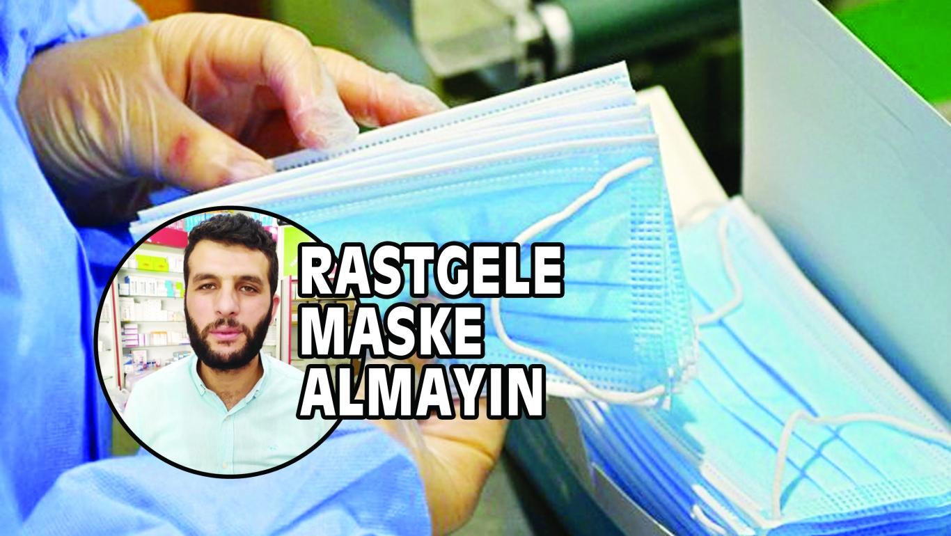 RASTGELE MASKE ALMAYIN
