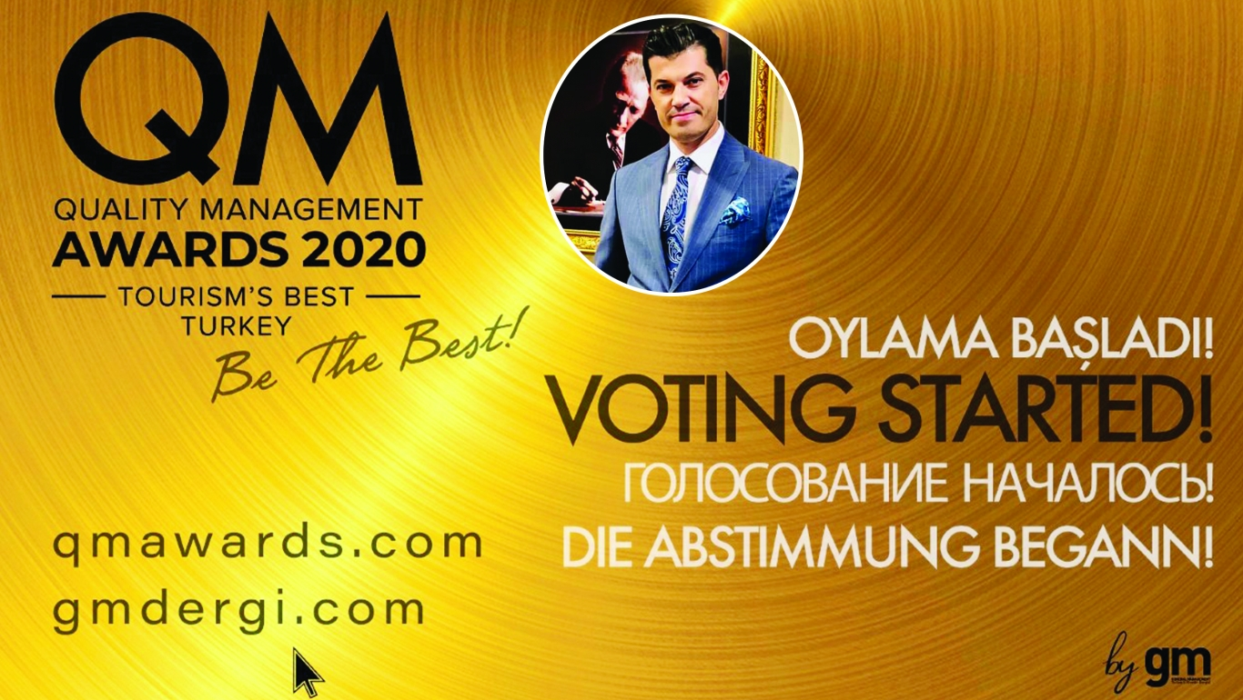 Real Konak Otel Qm Awards Ödülüne Aday